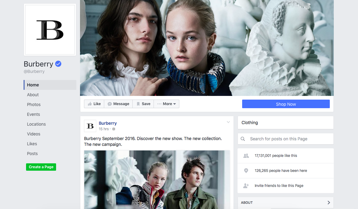 burberry-social-media-presence-facebook