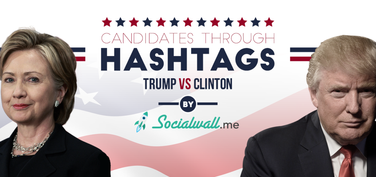 Trump & Clinton Through Hashtags