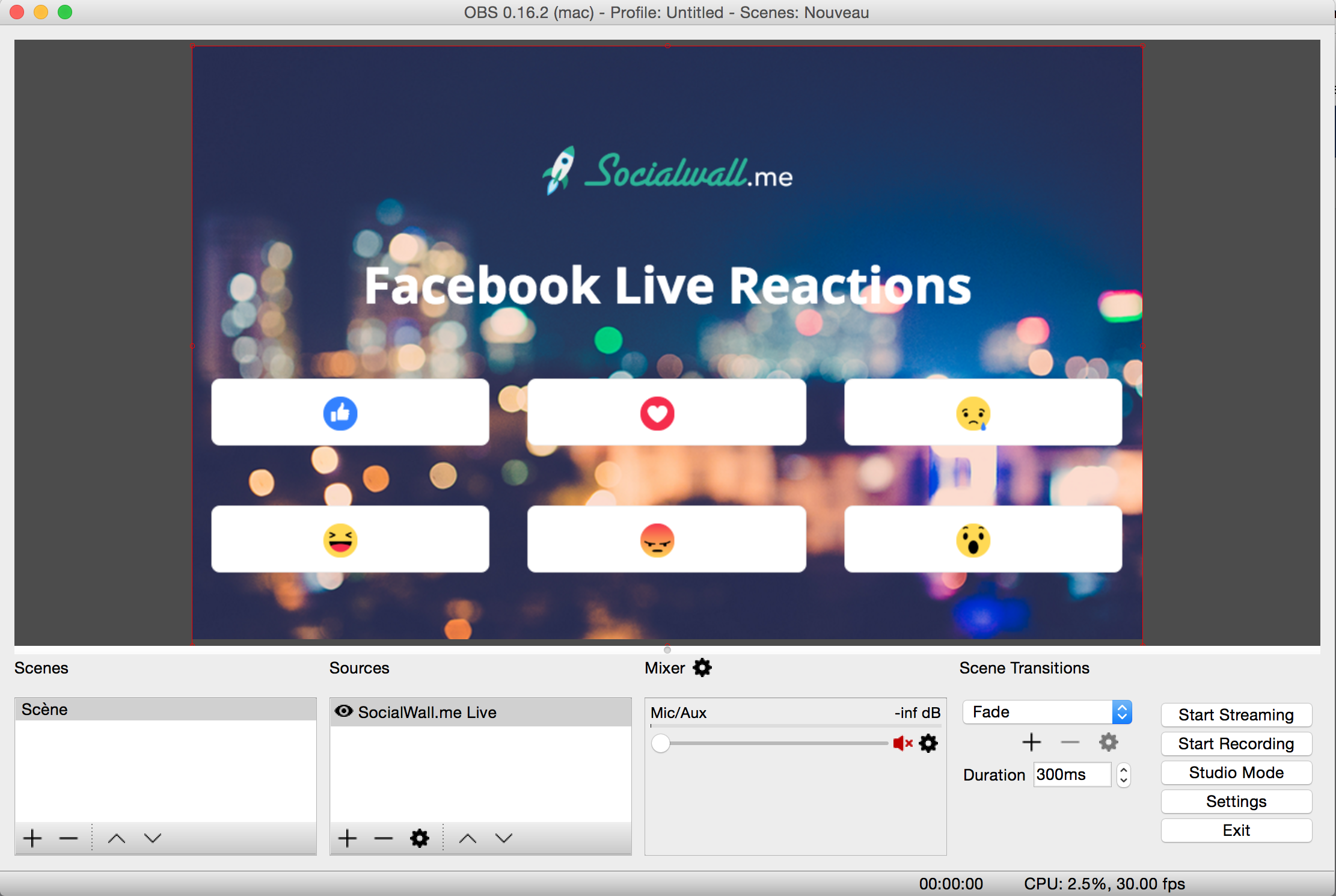 Capture And Stream In Real Time Facebook Live Reactions Socialwall Me